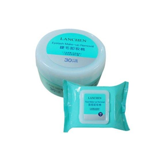 cleansing oil free makeup remover wipes eye pads NOX BELLCOW Brand