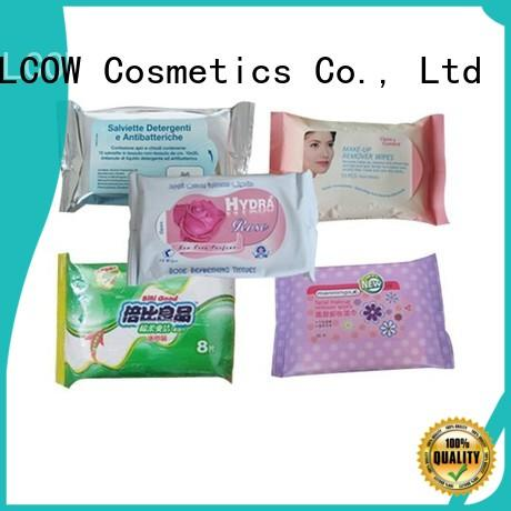 NOX BELLCOW 10pcs men's cleansing wipes factory for skincare