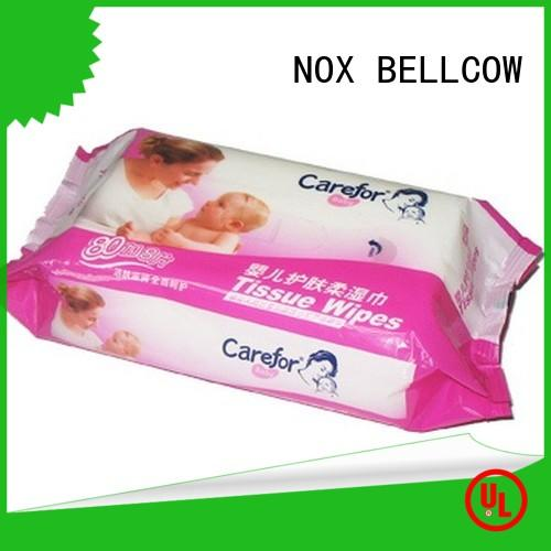 NOX BELLCOW pure baby water wipes supplier for body