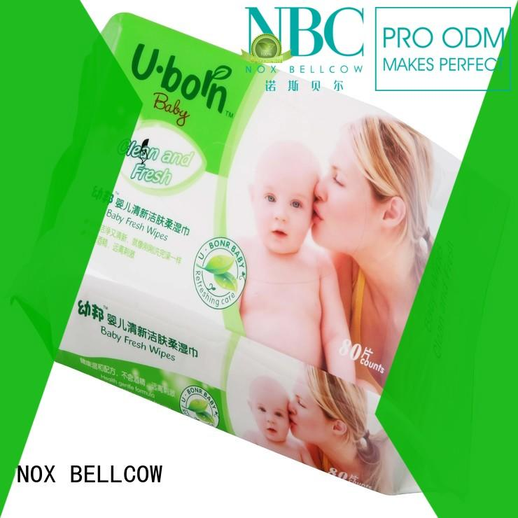 NOX BELLCOW tender cheap baby wipes lid for mouth