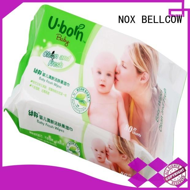 NOX BELLCOW baby pure baby wipes manufacturer for skincare