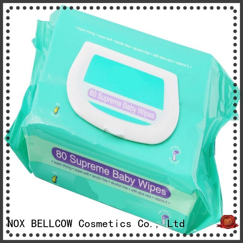 NOX BELLCOW pure pure baby wipes wholesale