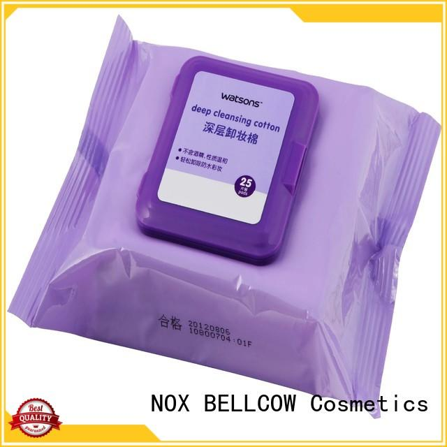 NOX BELLCOW wipes makeup remover wipes supplier for neck