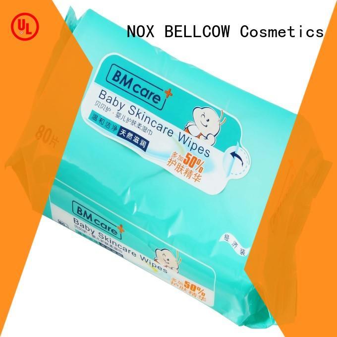 NOX BELLCOW 16s antibacterial baby wipes manufacturer for hand