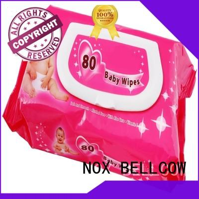 hand wipes best baby wipes moisturizing NOX BELLCOW company