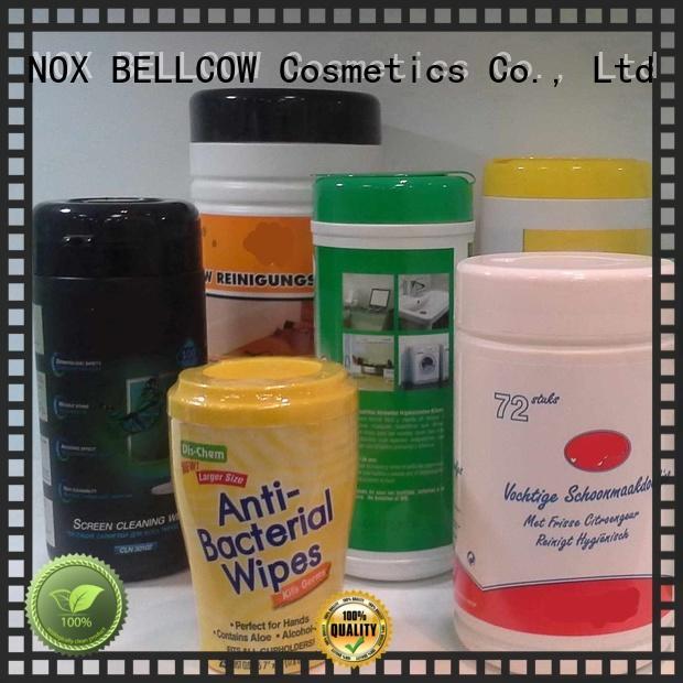 Custom wet nox bellcow cosmetics wipes NOX BELLCOW
