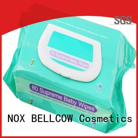 NOX BELLCOW 80pcs natural baby wipes manufacturer
