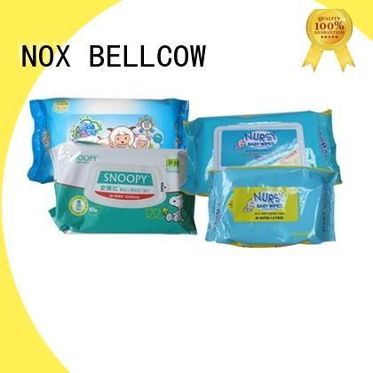 NOX BELLCOW tender best baby wipes supplier for ladies