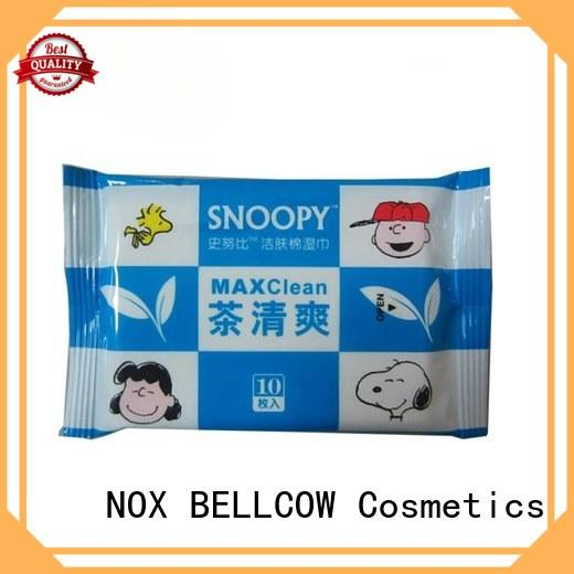 NOX BELLCOW invigorating best cleansing wipes supplier for man
