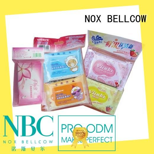NOX BELLCOW individual best face cleaning wipes factory for man