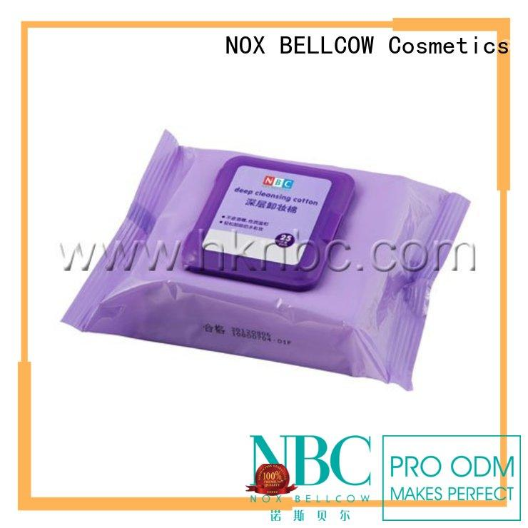 biodegradable eye makeup remover wipes factory for ladies