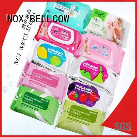 NOX BELLCOW wet best facial cleansing wipes wholesale for man