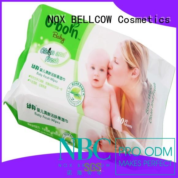 NOX BELLCOW lid alcohol free baby wipes series for skincare