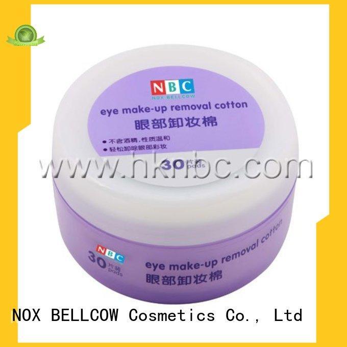 tencel fiber natural makeup remover wipes cotton manufacturer for ladies