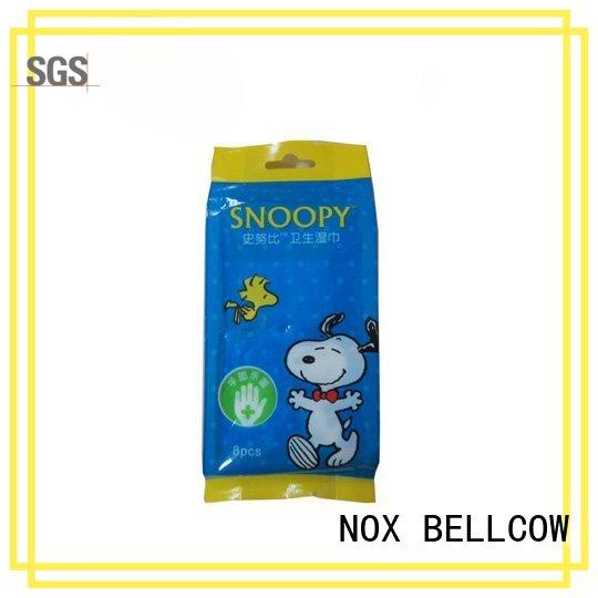 NOX BELLCOW refreshing cleansing wipes factory for hand