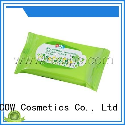 individual facial cleansing wipes facial factory for women