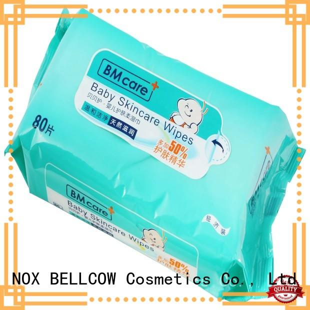 NOX BELLCOW free baby water wipes manufacturer for skincare