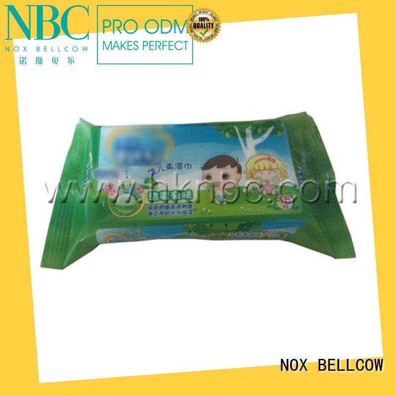 NOX BELLCOW free eco friendly baby wipes wholesale for hand