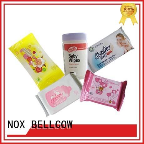 NOX BELLCOW tender baby water wipes factory