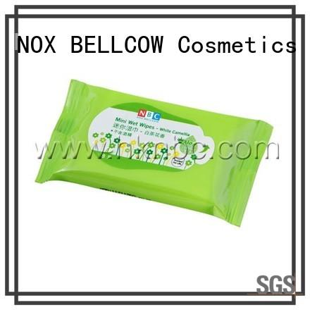 NOX BELLCOW individual cleansing wipes supplier for women