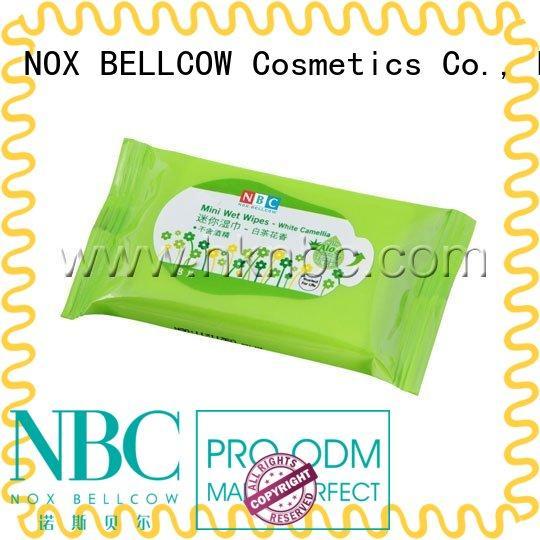 lemon cleansing wipes mini for ladies NOX BELLCOW