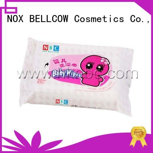 NOX BELLCOW moisturizing natural baby wipes factory for body