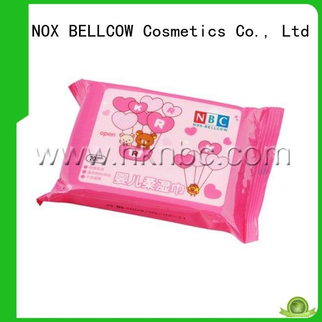 NOX BELLCOW 380pcs parents choice baby wipes supplier for body