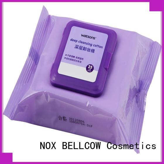 moisturizing makeup wipes for sensitive skin cotton supplier for neck