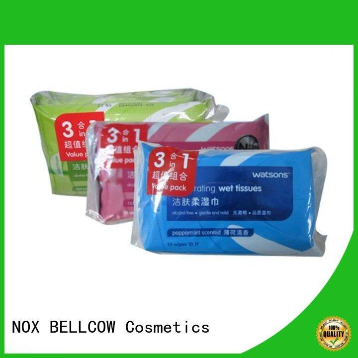 NOX BELLCOW 10s best cleansing wipes wholesale for ladies