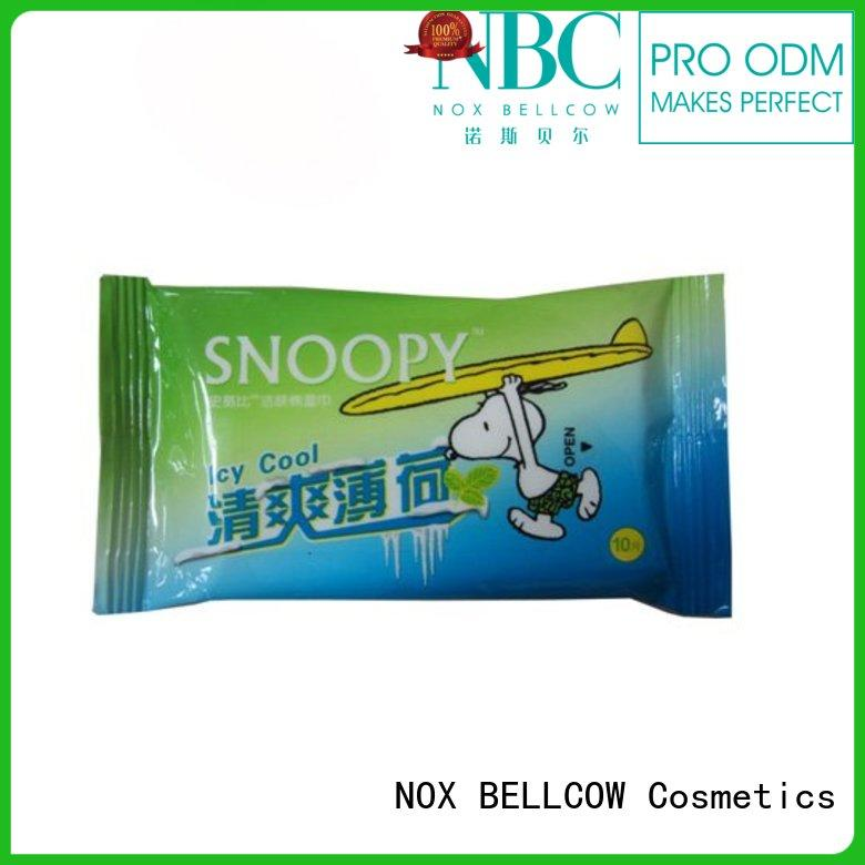 wipes for face cleaning snoopy for skincare NOX BELLCOW
