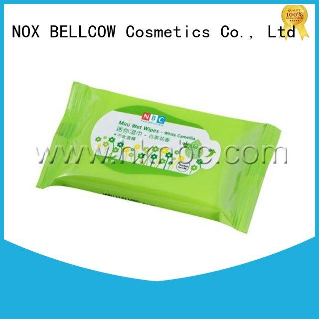 NOX BELLCOW green oil cleansing wipes manufacturer for adult