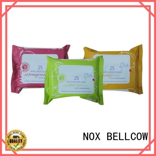 NOX BELLCOW refreshing best cleansing wipes supplier for skincare
