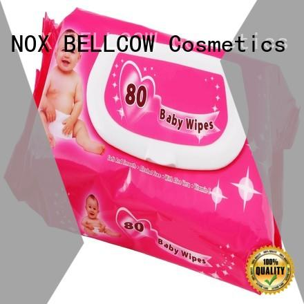 NOX BELLCOW pure antibacterial baby wipes series for body