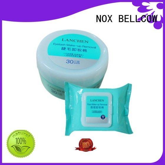 NOX BELLCOW deep natural makeup remover wipes factory