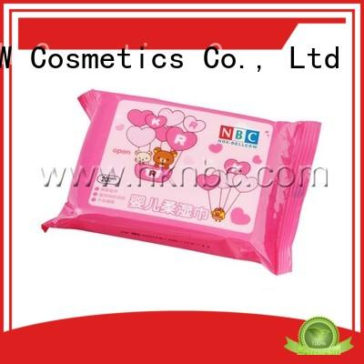 NOX BELLCOW cotton natural baby wipes manufacturer for ladies