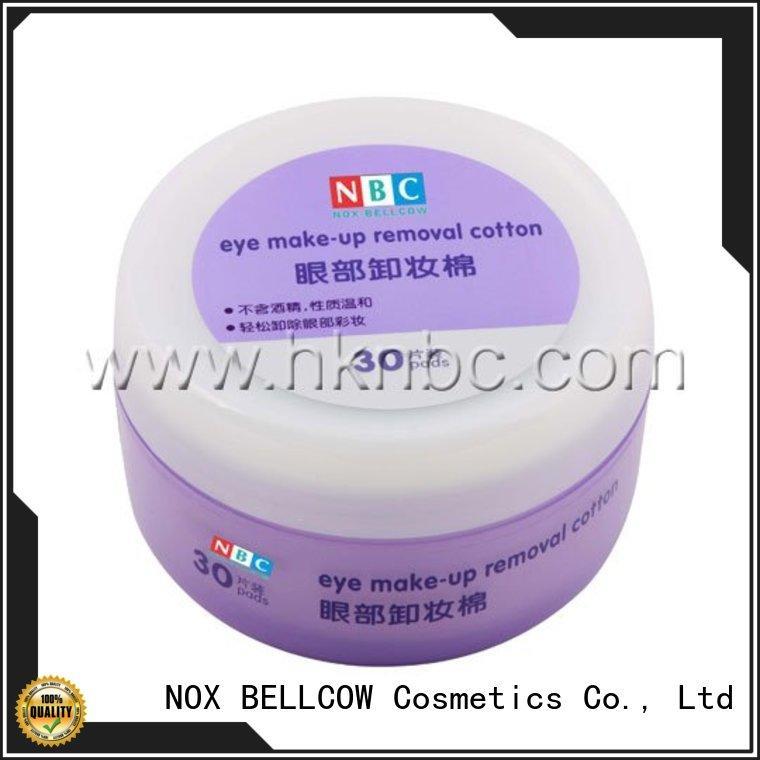 NOX BELLCOW moisturizing makeup wipes for sensitive skin manufacturer for skincare