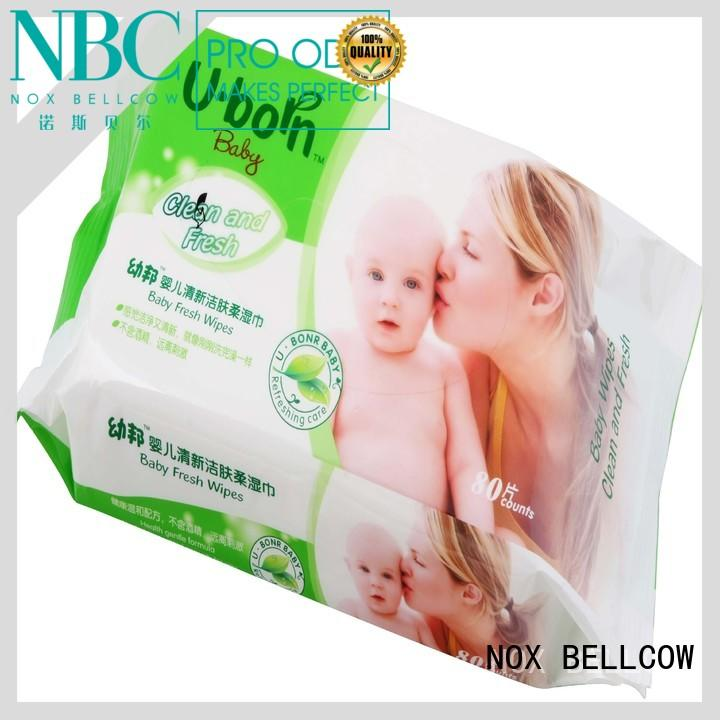 Hot baby best baby wipes free tender NOX BELLCOW Brand