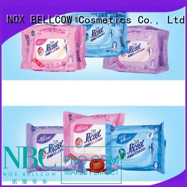 free safest baby wipes manufacturer for infant NOX BELLCOW