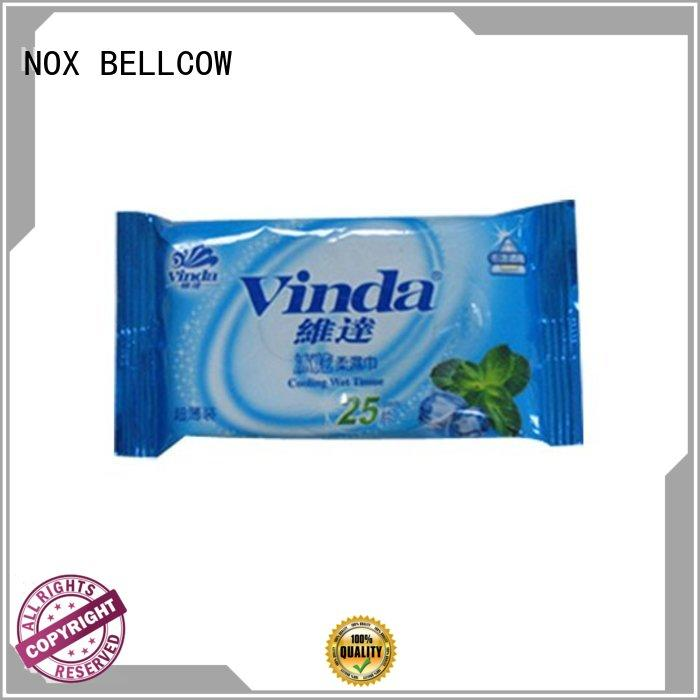 NOX BELLCOW refreshing best facial cleansing wipes supplier for women