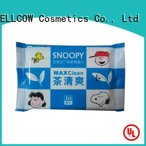 refreshing men's facial cleansing wipes facial factory for hand