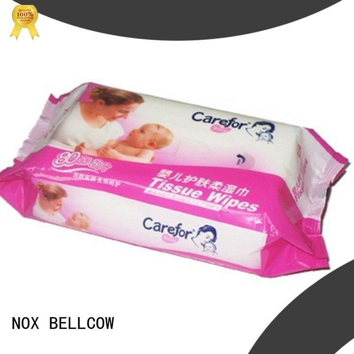 NOX BELLCOW lid pure baby wipes manufacturer for hand