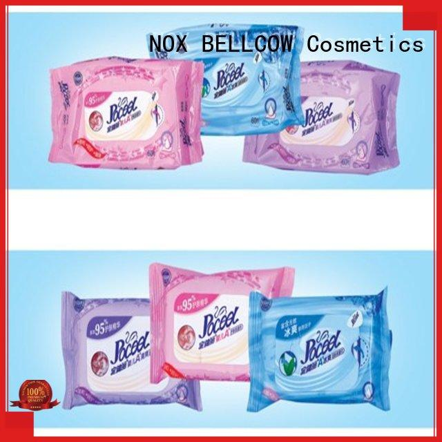 NOX BELLCOW moisturizing natural baby wipes manufacturer for hand