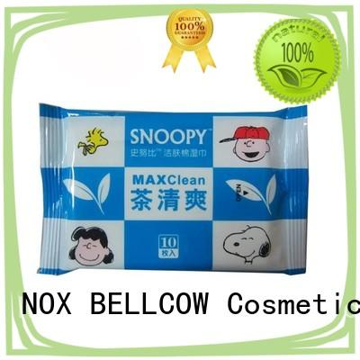 NOX BELLCOW refreshing oil cleansing wipes facial for ladies