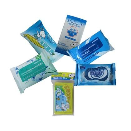 NOX BELLCOW Brand mini snoopy acne cleansing wipes tea supplier