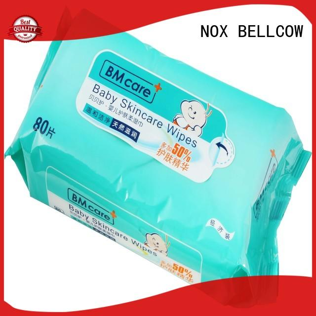 NOX BELLCOW hand antibacterial baby wipes wholesale for ladies