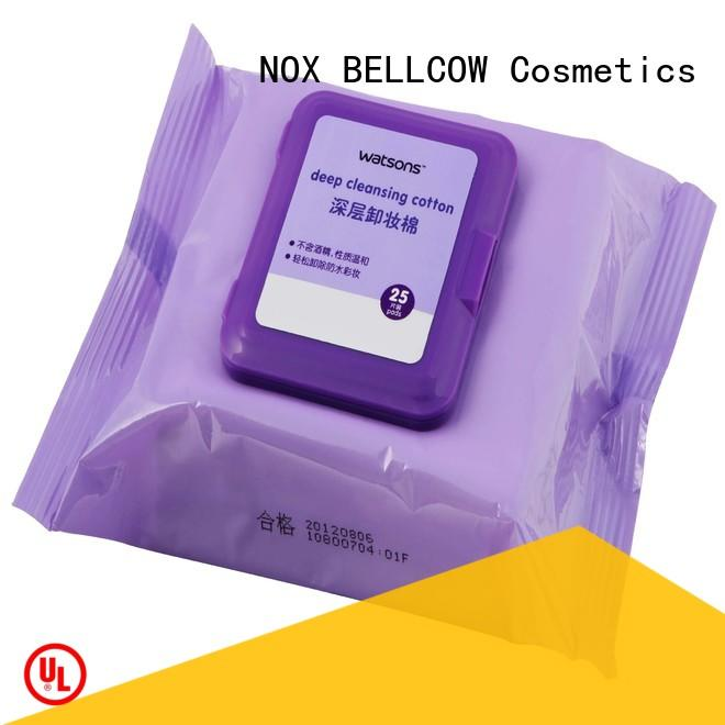NOX BELLCOW cleansing best makeup wipes supplier for neck