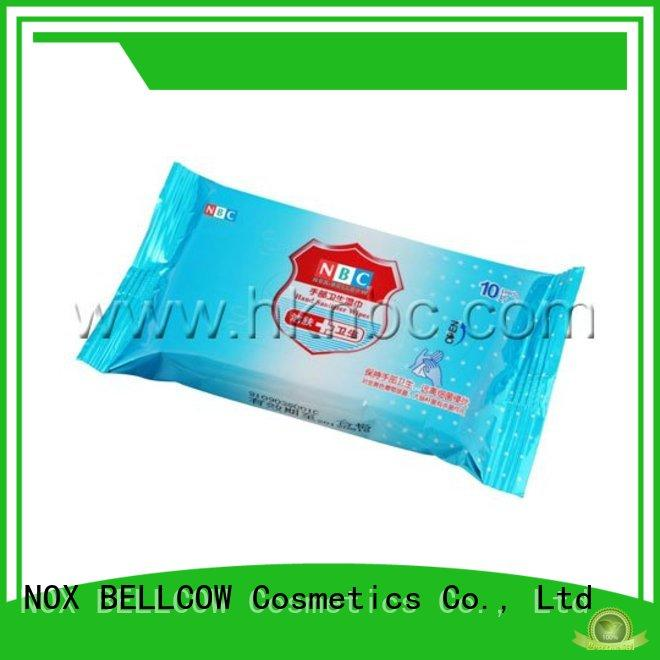 NOX BELLCOW refreshing best cleansing wipes manufacturer for adult