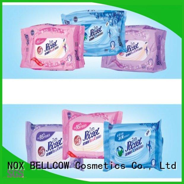 NOX BELLCOW 20pcs antibacterial baby wipes manufacturer for infant