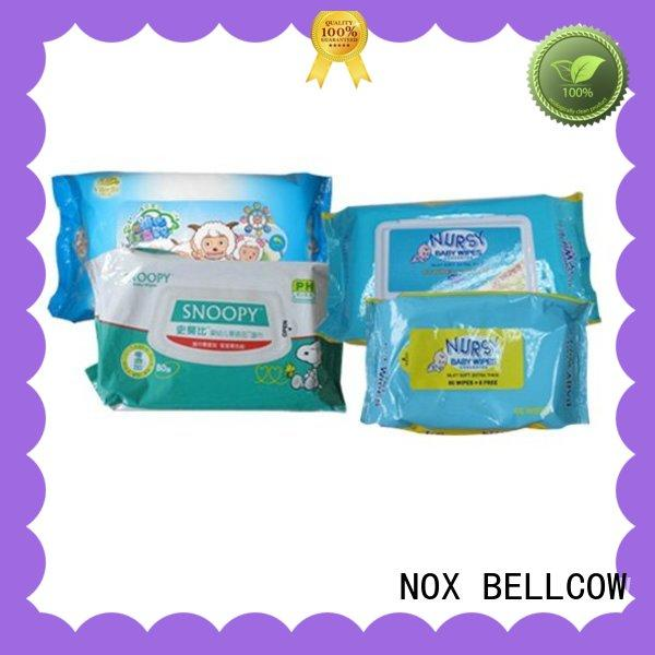 NOX BELLCOW pure simple baby wipes factory for infant