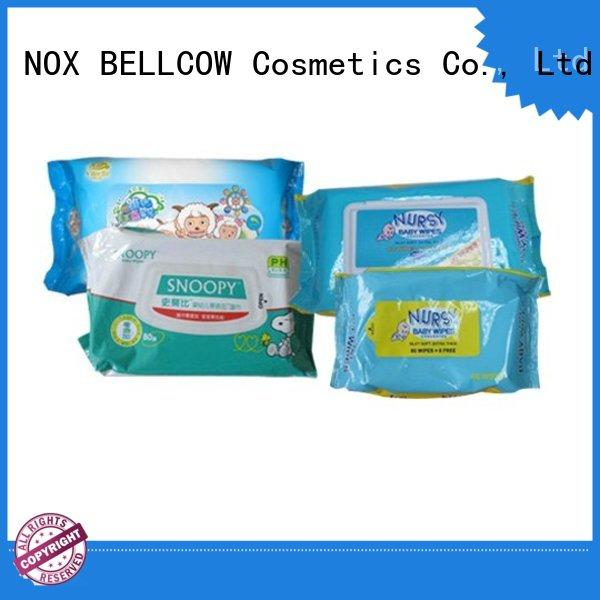 NOX BELLCOW handmouth newborn baby wipes factory for skincare